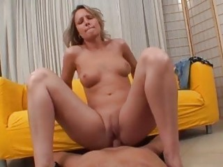 Horny Czech milf bends over for his hard cock