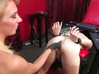 Hardcore beauty is pleasuring his tight asshole