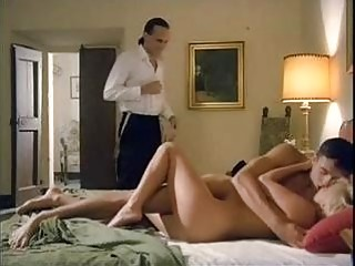Two horny dudes fucked a beautiful Serbian blonde