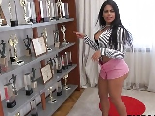 Venezuelan slut loves his big cock inside of her