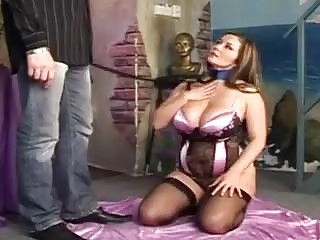 BBW in stockings gets pounded in various positions
