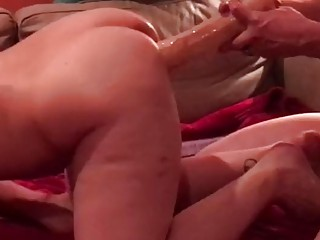 Wild wife in a hot threesome act