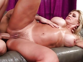 Big booty MILF has fetish anal sex with step son