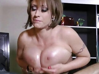 Kinky MILF with big tits pleasures a boner in POV