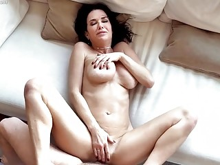 Beautiful mom gets rammed in various positions