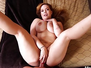 Curvaceous MILF with big tits takes a hardcore pounding POV