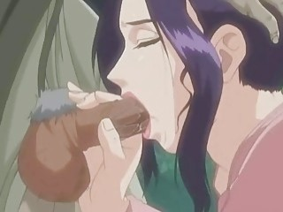 Hentai girl fucks her perverted father in law in cartoons