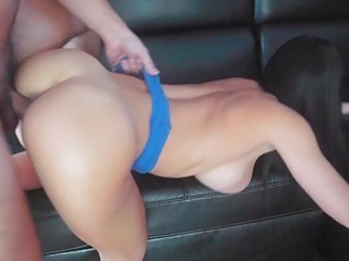 Gorgeous babes love to fuck hardcore in their ass holes