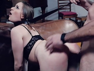Submissive filthy babes love to fuck hardcore on a leash